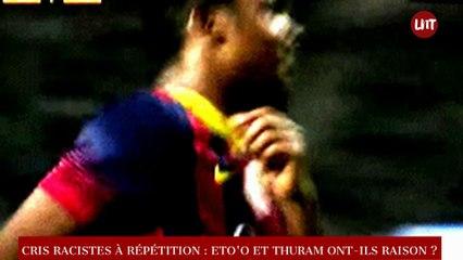 Cris racistes dans le milieu du football : Eto'o et Thuram ont-ils raison ?
