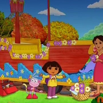 Dora the Explorer Go Diego Go 713 - Dora's Thanksgiving Day Parade