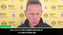 Asisten pelatih Dortmund menilai potensi Sancho membuat tim sulit mempertahankannya
