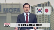 South Korea and Japan hold working-level diplomatic talks today