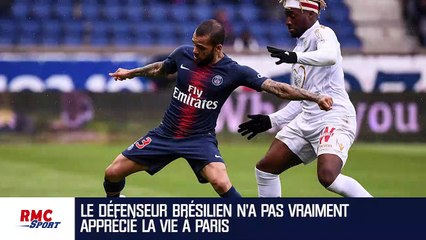 PSG : Alves pointe du doigt le racisme à Paris