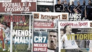 La déclaration choc de Jorge Mendes sur CR7, l'Espagne célèbre la qualification difficile de la Roja