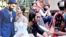 Ranveer Singh Caught Staring At Deepika Padukone's Waist