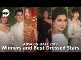 ABS-CBN Ball 2019 winners and Best Dressed Stars   PEP Hot Story