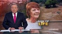 """Une Australienne perdue depuis trois jours dans le bush a été retrouvée grâce à un """"SOS"""" écrit en grattant le sol - VIDEO"""