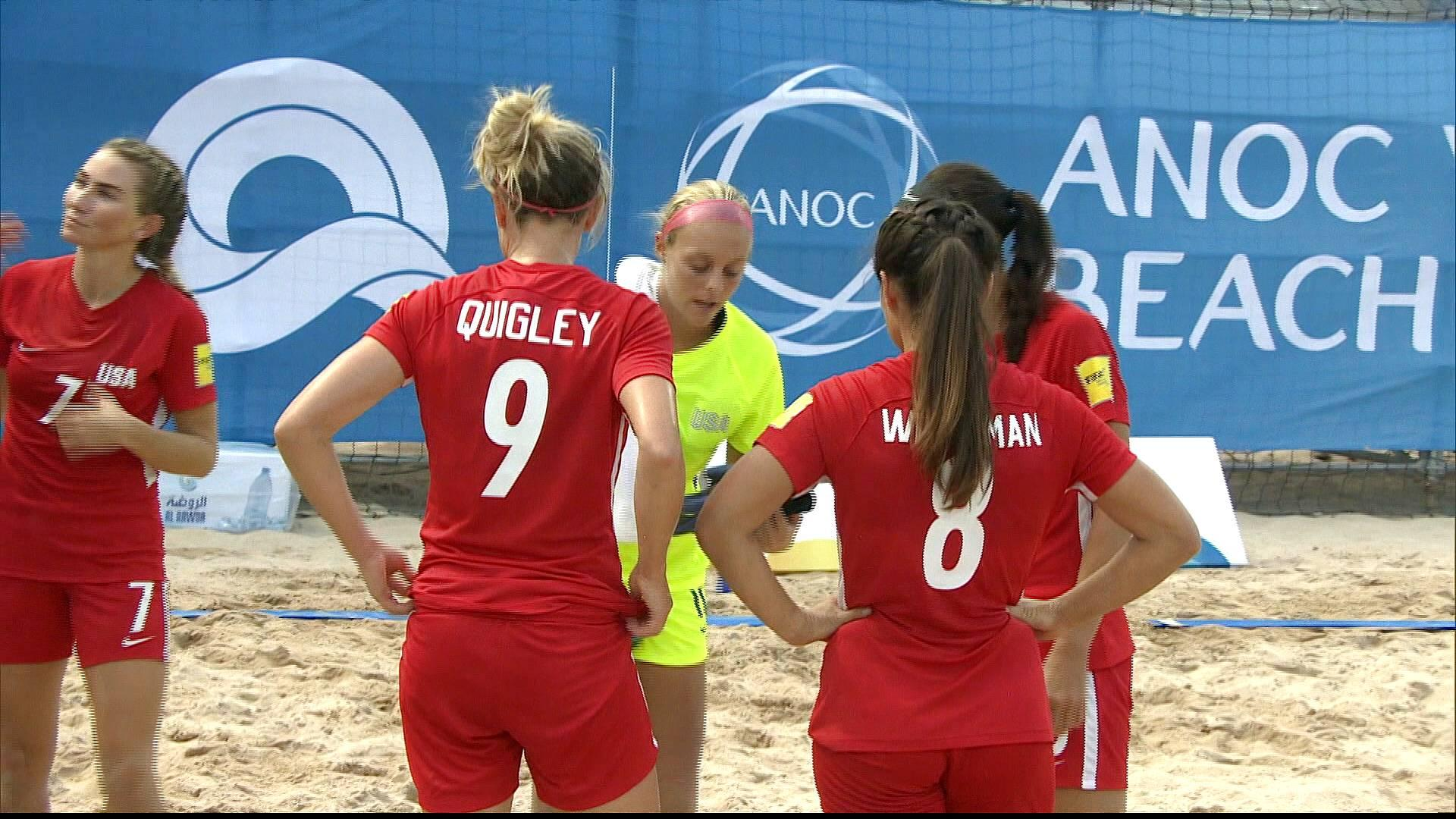 World Beach Games football: History being made in Doha