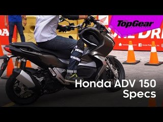 Can't get enough of the Honda ADV 150? Watch this