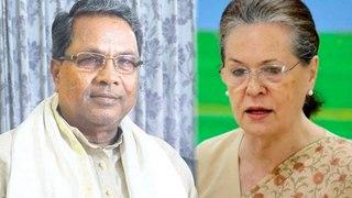 Siddaramaiah Met Sonia Gandhi in New Delhi | Oneindia Kannada
