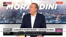 """Valérie Bénaïm dans """"Morandini Live"""" : """"On m'a souvent souvent prise pour une conne!"""""""