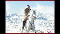 Wichtige Entscheidung? Nordkoreas Kim Jong Un reitet zum Berg Paektu