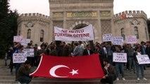 İstanbul Üniversitesi öğrencilerinden Barış Pınarı Harekatı'na destek