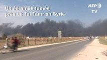 Les forces kurdes brûlent du carburant alors que la Turquie poursuit son offensive