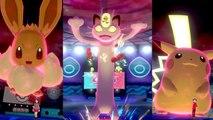 Pokémon Épée & Bouclier - Les formes Gigamax en action
