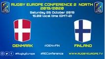 DENMARK / FINLAND - RUGBY EUROPE