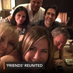 'Friends' cast reunites in Jennifer Aniston's first Instagram post