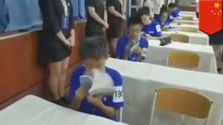 Chinese speed reading contest will leave you at a loss for words