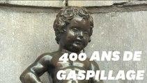 Fini le gaspillage d'eau, même le Manneken-Pis de Bruxelles est désormais écolo
