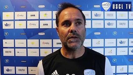 J11 USCL-Dunkerque : l'interview d'avant-match de Carlos Secretário