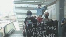 Embattled Hong Kong leader announces housing boost