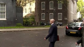 Cabinet arrives at Number 10 for Brexit update