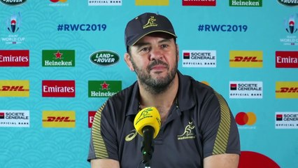Cheika and White on facing England in Quarter-final at Rugby World Cup 2019