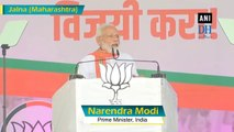 Congress is taking its last breath, says PM Modi in Maharashtra rally