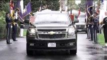 USA - Mattarella con il Presidente degli Stati Uniti d'America, Donald Trump (16.10.19)