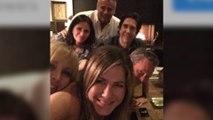 Jennifer Aniston a fait ses débuts sur Instagram avec ses copains de Friends!