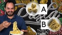 Pasta Expert Guesses Cheap vs Expensive Pasta