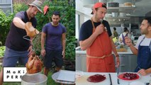 Brad and Andy Try to Make the Perfect Turkey and Cranberry Sauce