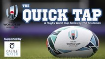 Quick Tap World Cup rugby show: reaction to Scotland's loss to Japa
