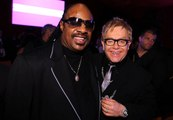 Elton John Let Stevie Wonder Drive a Snowmobile by Himself