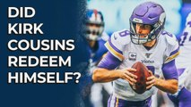 Did Kirk Cousins redeem himself? | Stacking the Box