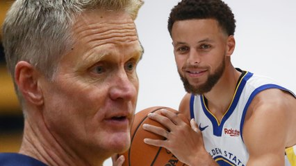 Steve Kerr Says Steph Curry Is At His PEAK, The BEST He's Ever Been