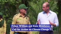 Prince William and Kate Middleton Call for Action on Climate Change
