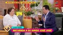 ¿Las cenizas de José José sí llegaron a México? Laura Núñez responde