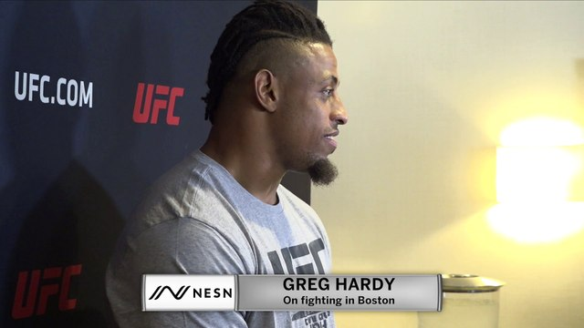 Greg Hardy Enjoying His Stay In Boston During Fight Week