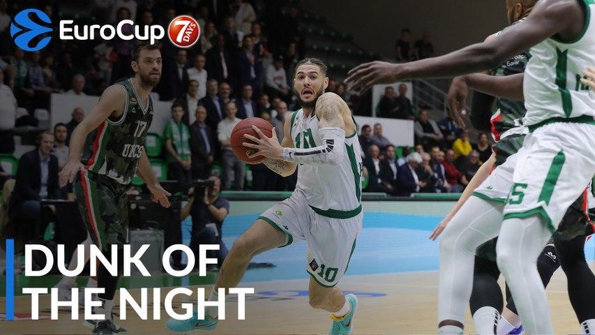 7DAYS EuroCup Dunk of the Night: Isaia Cordinier, Nanterre 92