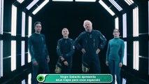 Virgin Galactic apresenta seus trajes para voos espaciais