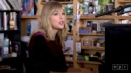 Taylor Swift Performs 'Lover' on NPR Tiny Desk | Billboard News