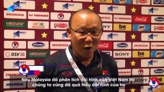 HLV Park Hang Seo quyết tâm cùng ĐT Việt Nam khuất phục ĐT Malaysia | VFF Channel