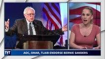 Ilhan Omar, Rashida Tlaib, and AOC Endorse Bernie Sanders