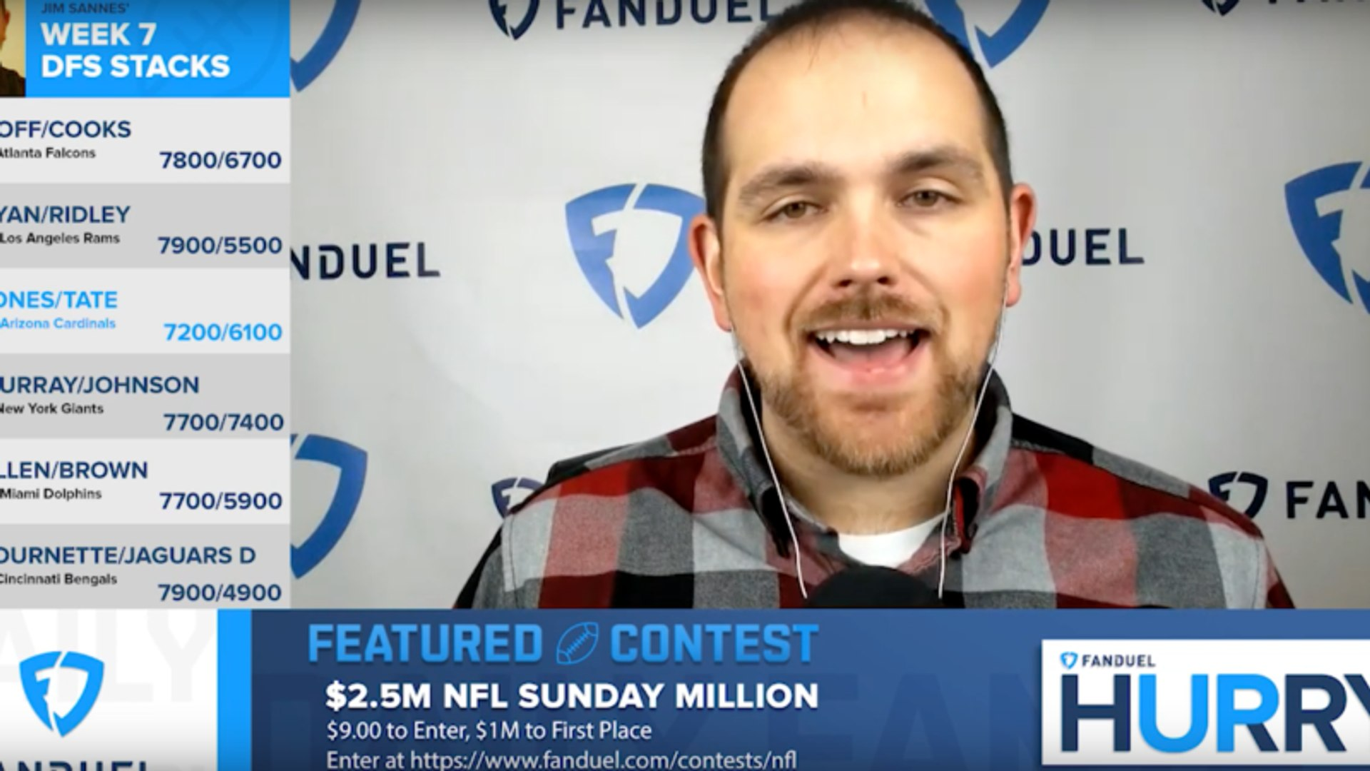 Best of FanDuel Hurry Up, 10/16/2019: Double Down on Danny Dimes!
