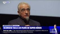 Le tacle de Martin Scorsese contre l'industrie du cinéma qui préfère mettre l'argent dans des films de super-héros