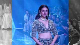 Aditi Rao Hydari Ramp Walk Bombay Times Fashion Week 2019