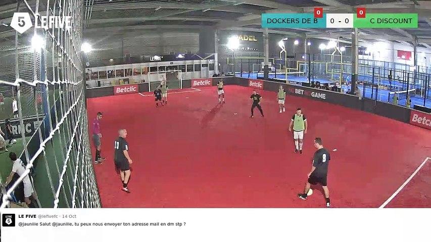 DOCKERS DE BORDEAUX Vs C DISCOUNT - 16/10/19 21:30 - 5 - LIGUE MERCREDI BUSINESS - LE FIVE Bordeaux