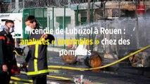 Incendie de Lubrizol à Rouen : analyses « anormales » chez des pompiers