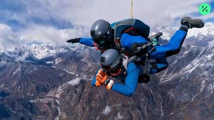 Paracaidismo en el Monte Everest