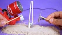 Faça Incríveis Mini Ferramentas com latinhas Coca cola