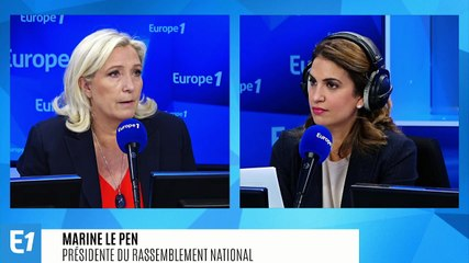 Marine Le Pen - L'interview de 8h15 Jeudi 17 octobre